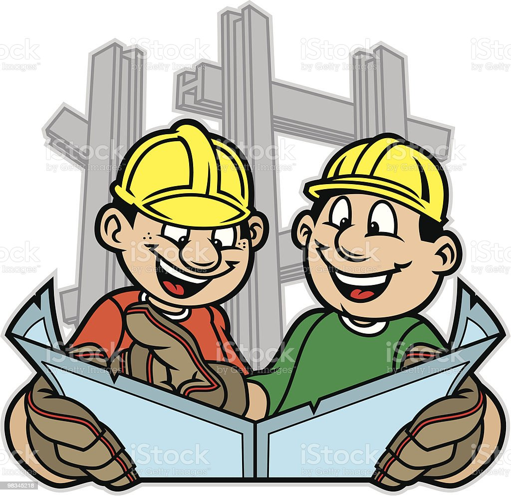 Kid Construction royalty-free kid construction stock vector art & more images of aspirations
