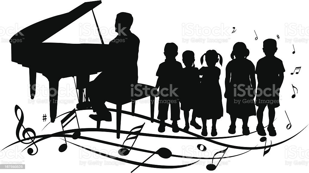 Kids in music class royalty-free kids in music class stock vector art & more images of boys