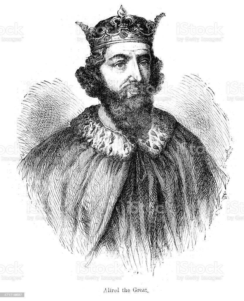 King Alfred the Great royalty-free king alfred the great stock vector art & more images of 9th century bc