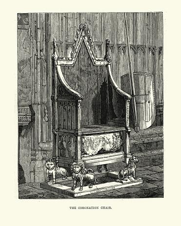 King Edward's Chair or The Coronation Chair
