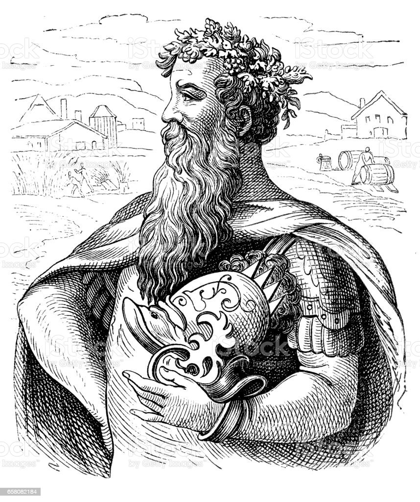 King Gambrinus ,the King of Beer royalty-free king gambrinus the king of beer stock vector art & more images of adult