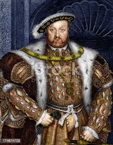 istock King Henry VIII 174674723