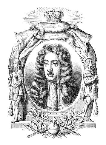 ジェームズ2世 肖像イラスト - 17世紀のベクターアート素材や画像を ...