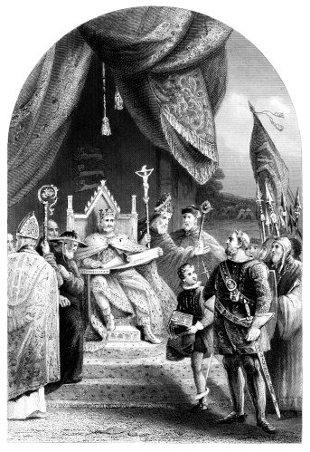 King John Sealing The Magna Carta