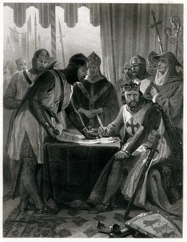 King John Signing The Magna Carta