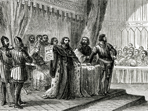 King John Signs The Magna Carta