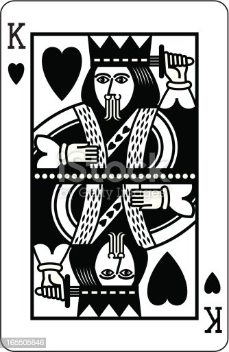 King Of Hearts Black S...