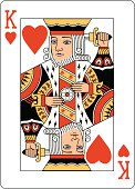istock King of Hearts Two playing card 165532599