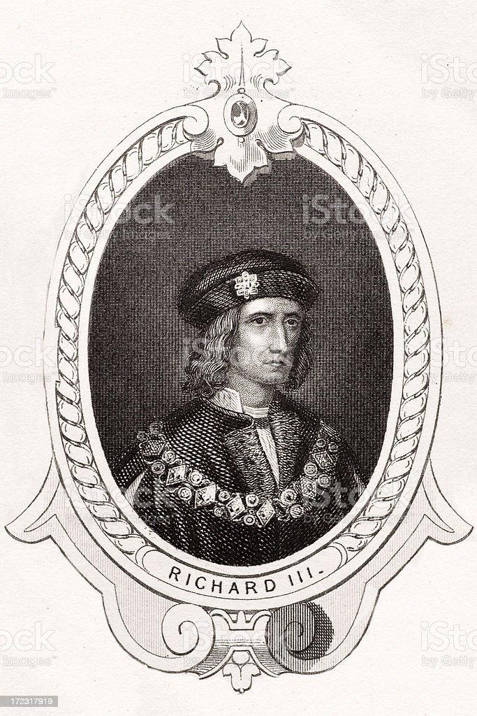 King Richard III royalty-free stock vector art