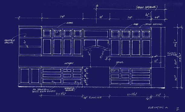 Best Blueprint Furniture Pictures Illustrations Royalty Free Vector