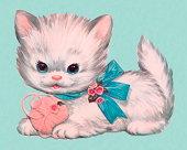 istock Kitten and Ball of Yarn 152405018