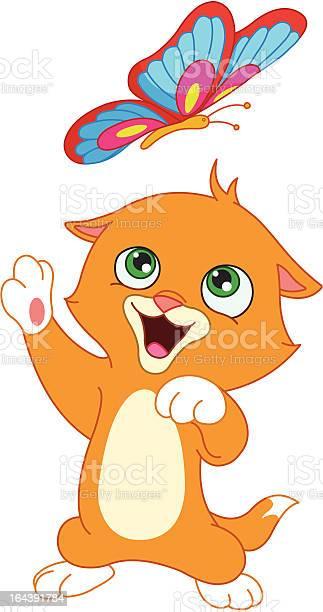 Kitten and butterfly illustration id164391784?b=1&k=6&m=164391784&s=612x612&h=ke4f3fsnm4sfvxrtfyfpspr6sf4hrwg6seg4n6zhgsm=