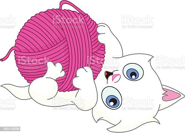 Kitten with wool ball illustration id164415039?b=1&k=6&m=164415039&s=612x612&h=fauyhmqkgvuxkpmvyyf9hyyypd  xvhyvj4vsxpghcq=