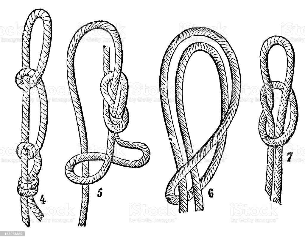 Knots royalty-free knots stock vector art & more images of 19th century style