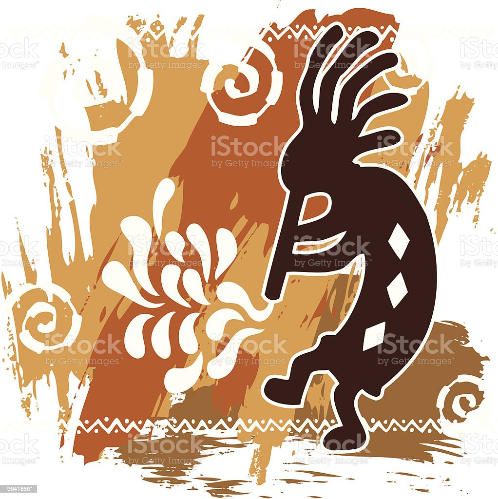 royalty free kokopelli clip art vector images illustrations istock rh istockphoto com kokopelli clip art png kokopelli clipart