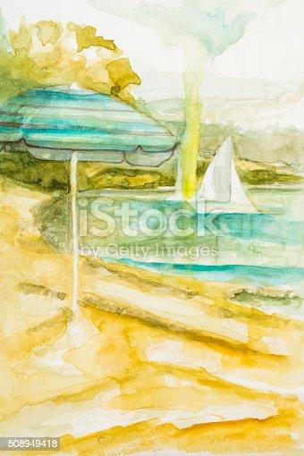 istock À la plage 508949418
