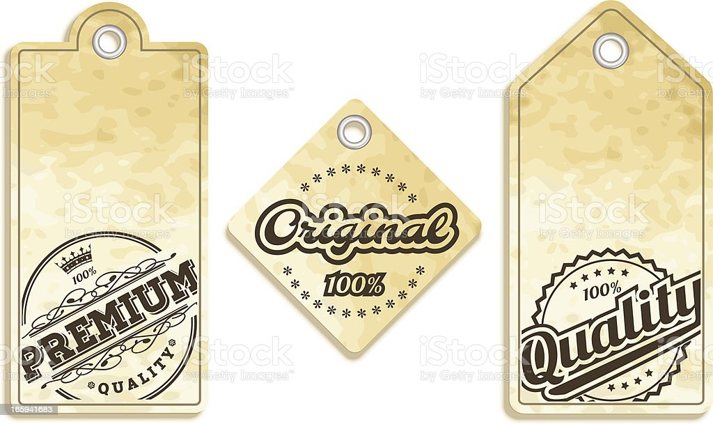 Labels royalty-free stock vector art