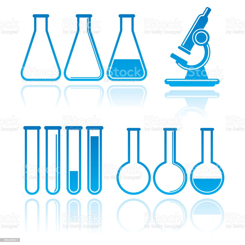 laboratory equipment royalty-free stock vector art