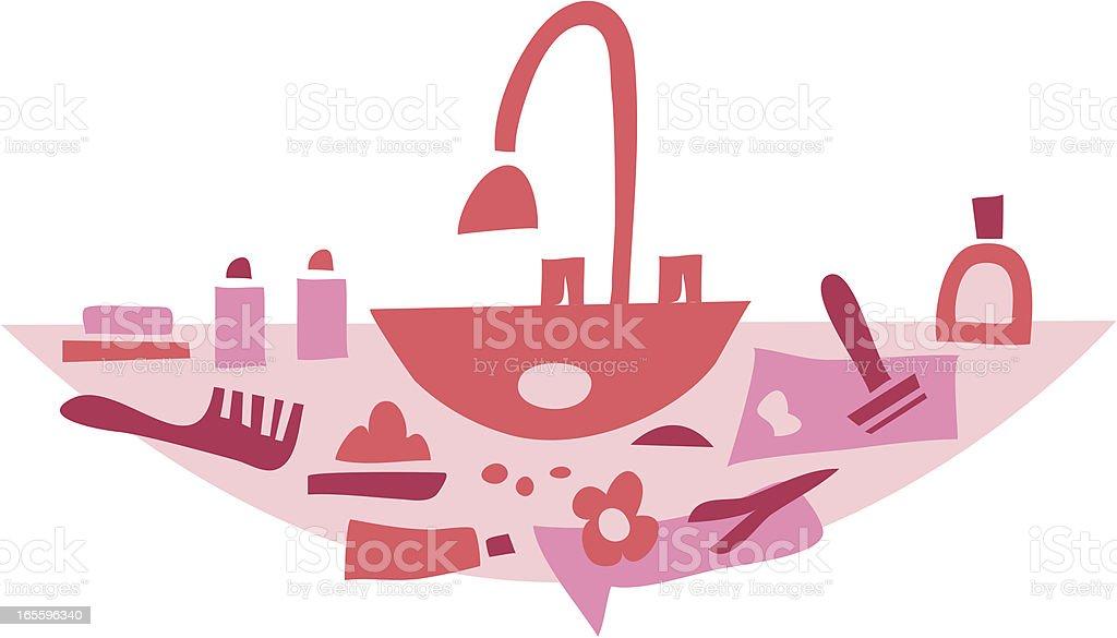 Para mulheres quarto ilustração de para mulheres quarto e mais banco de imagens de barbeador elétrico royalty-free
