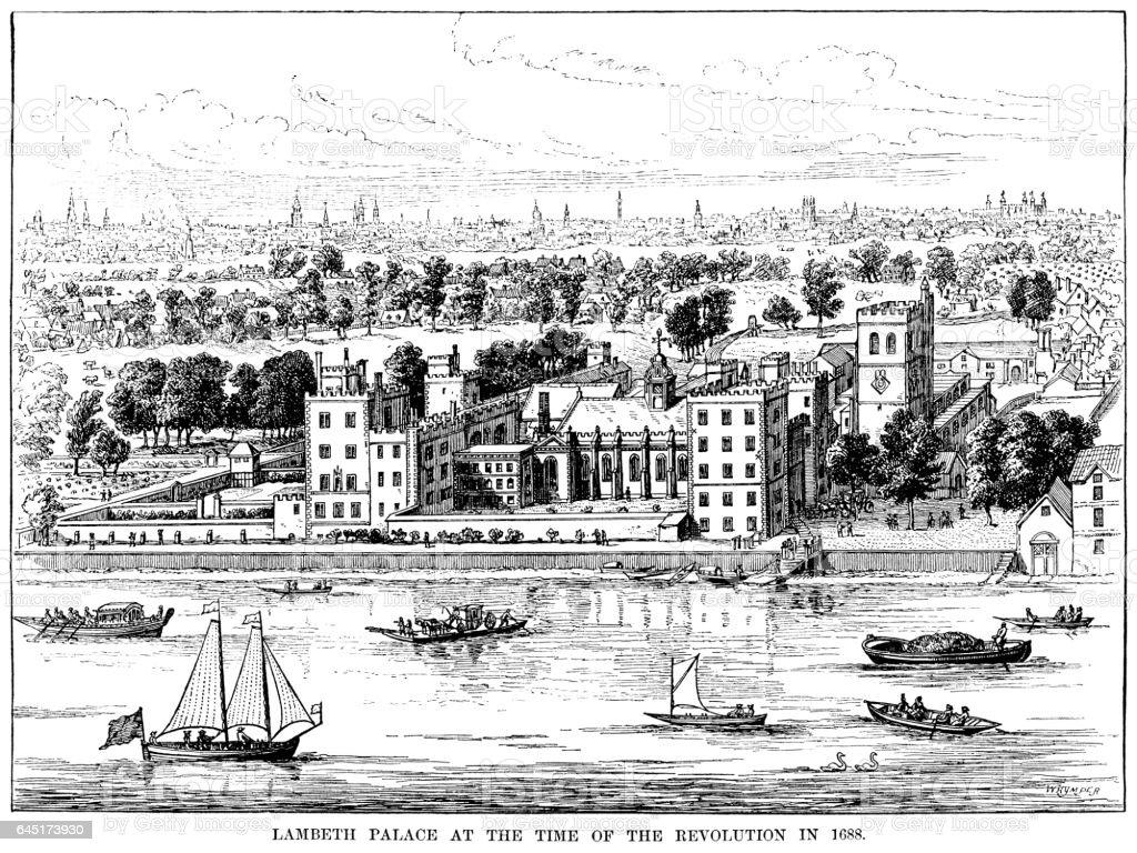 ランベス宮殿ロンドン1688 年 - 17世紀のベクターアート素材や画像を ...