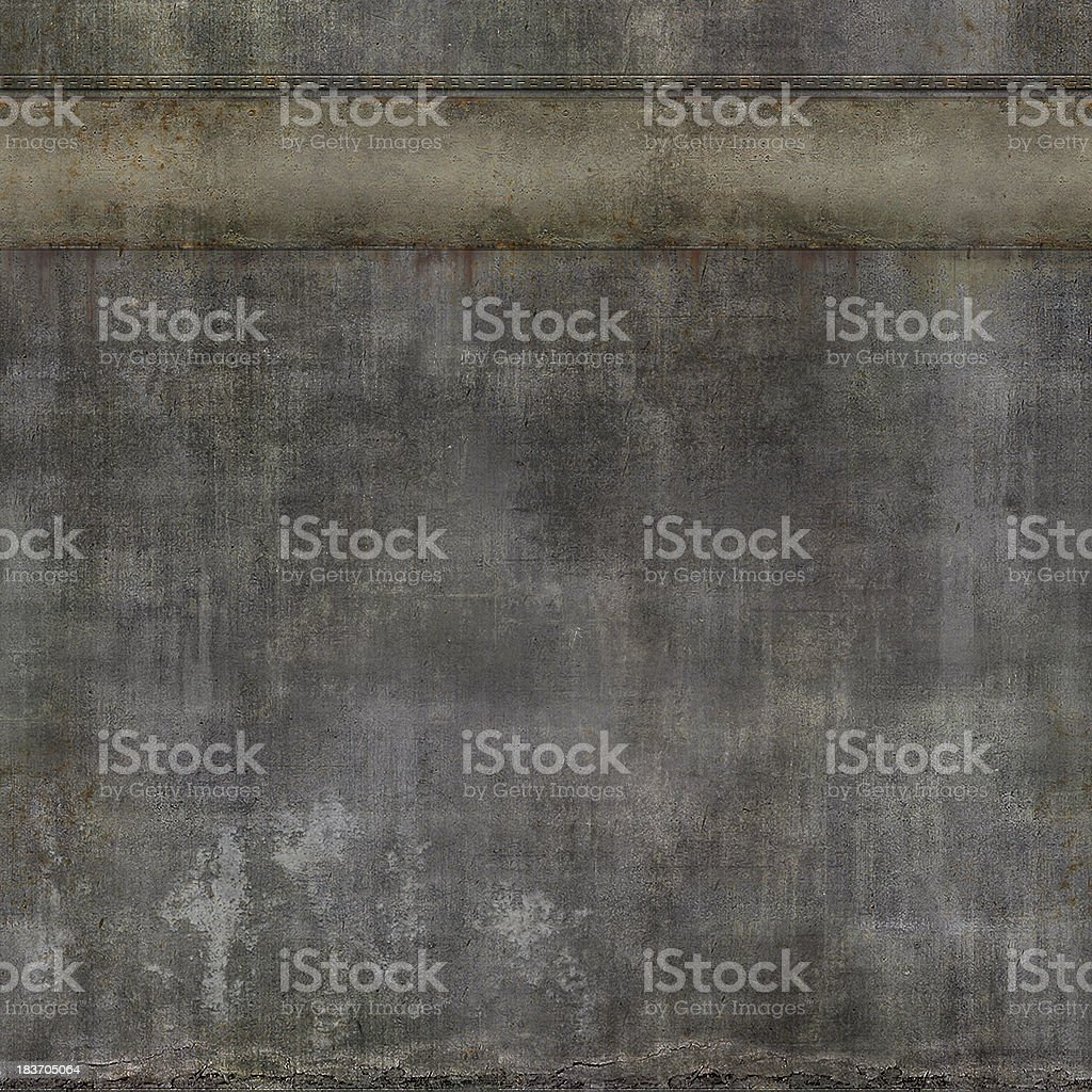Large concrete textured wall background vector art illustration