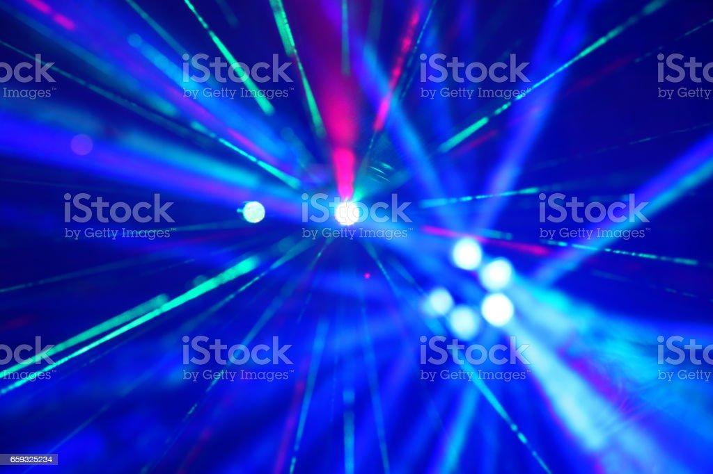 Laser Lights vector art illustration