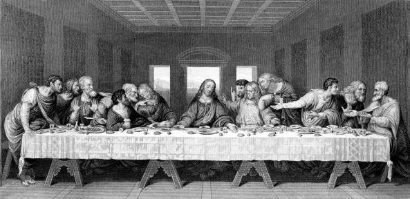 The Last Supperby Leonardo Da Vinci19th Century Engraving