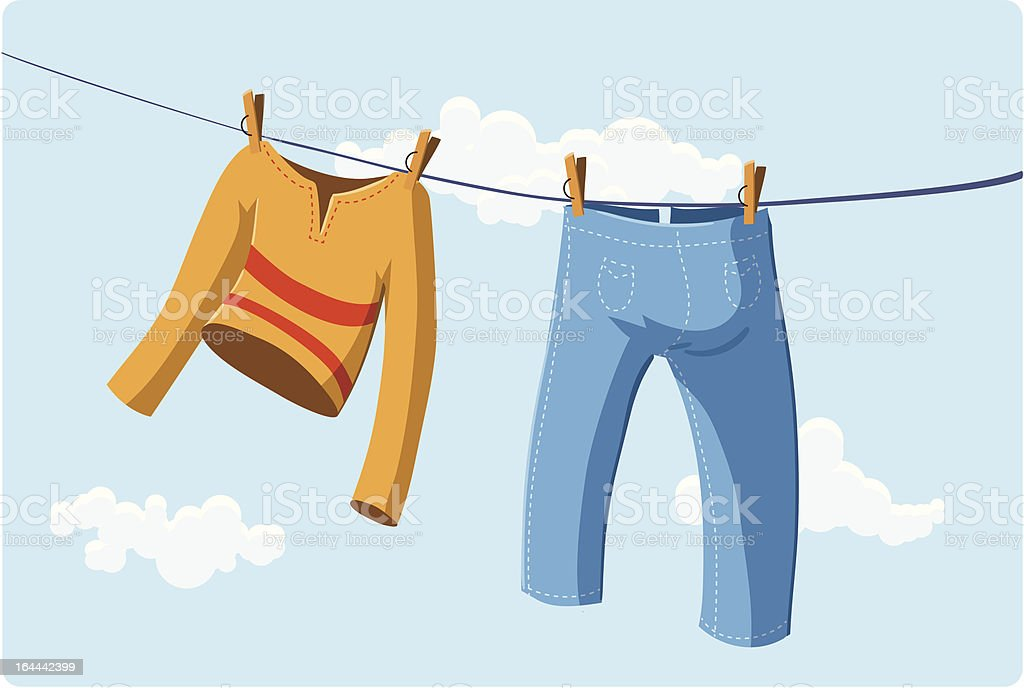 Laundry royalty-free laundry stock vector art & more images of bloomers