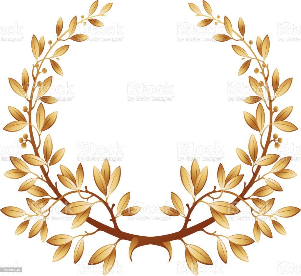laurel garland decoration royalty-free stock vector art