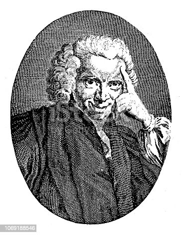 istock Laurence Sterne (24 November 1713 – 18 March 1768) was an Irish-born English language novelist and an Anglican clergyman 1069188546