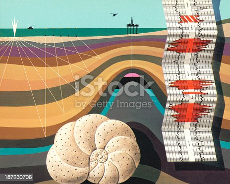 Layers Under the Sea
