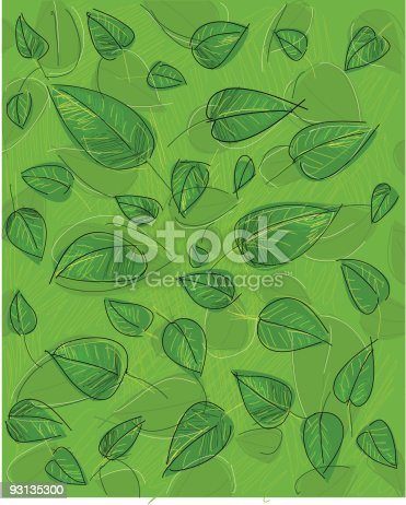 istock leaf background 93135300