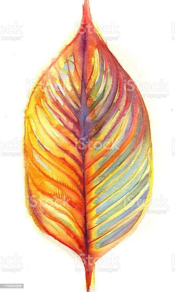 leaf vector art illustration