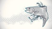 Leaping Trout Wallpaper