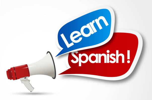 Spanisch lernen – Vektorgrafik