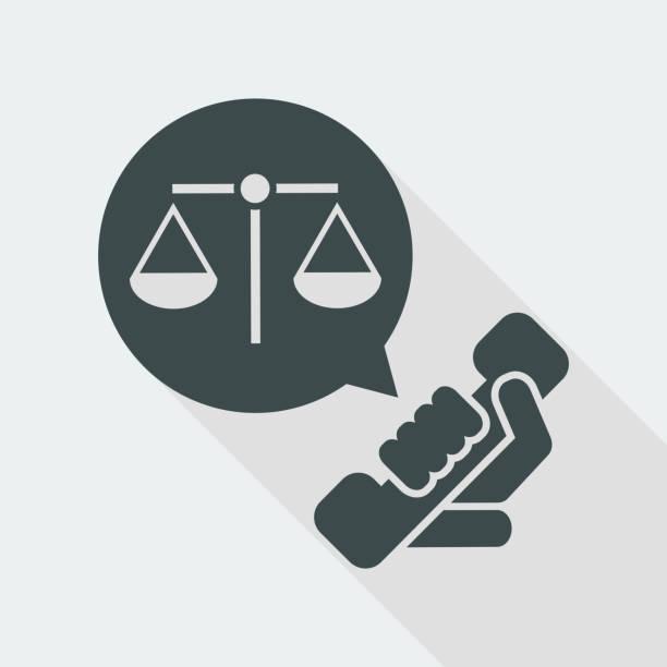 ilustrações, clipart, desenhos animados e ícones de ícone de assistência jurídica - assistente jurídico