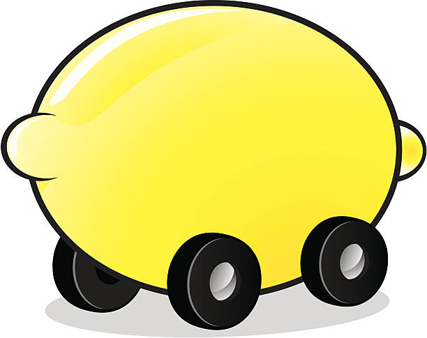 Royalty Free Lemon Car Clip Art Vector Images Illustrations