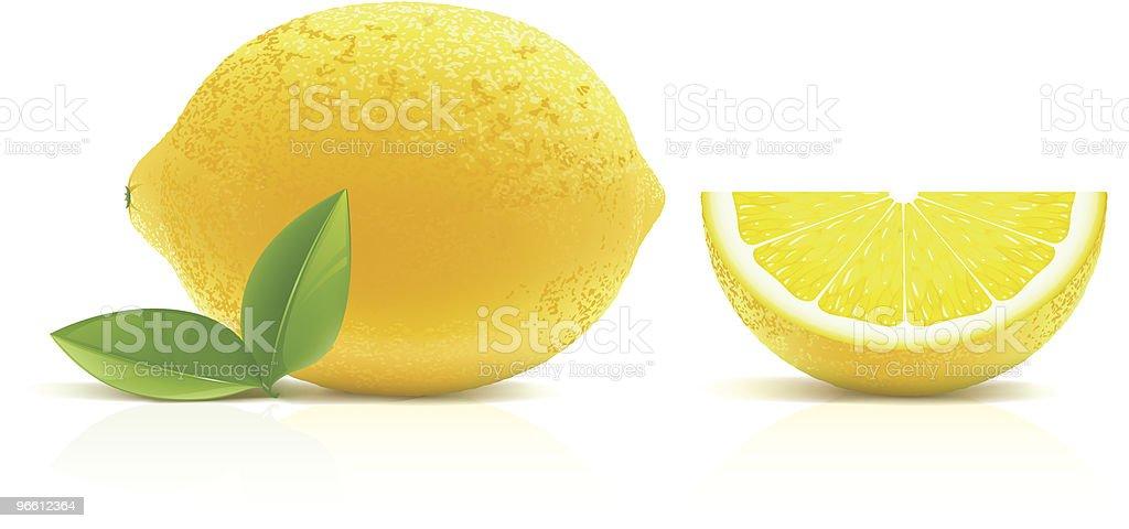 Lemon - Royalty-free Citrus Fruit stock vector