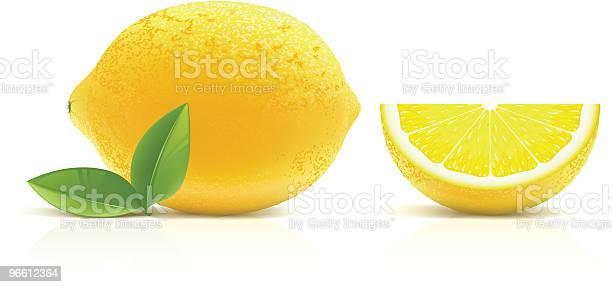 Lemon-vektorgrafik och fler bilder på Citron