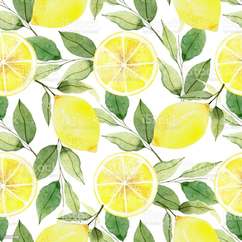 レモン 水彩模様 背景 フルーツ 壁紙 絵画 描画愛の平和 まぶしいのベクターアート素材や画像を多数ご用意 Istock