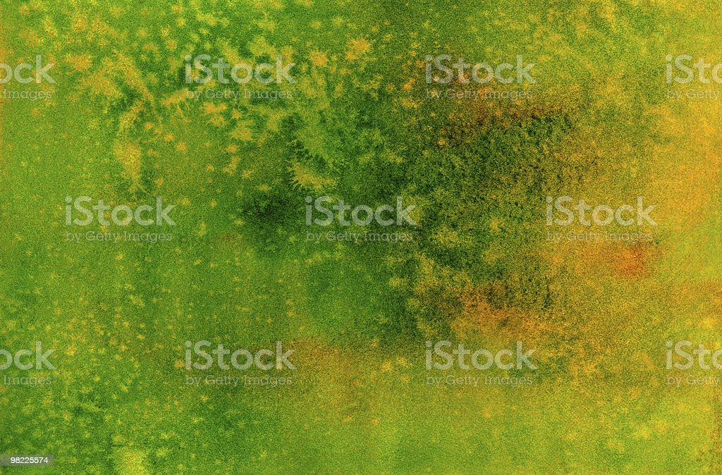 Lemon-Lime Watercolor Background royalty-free lemonlime watercolor background stock vector art & more images of abstract