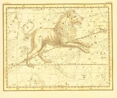 Leo Zodiac Map