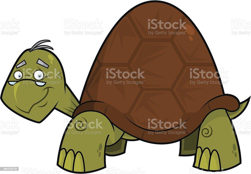 Leonard The Turtle royalty-free stock vector art