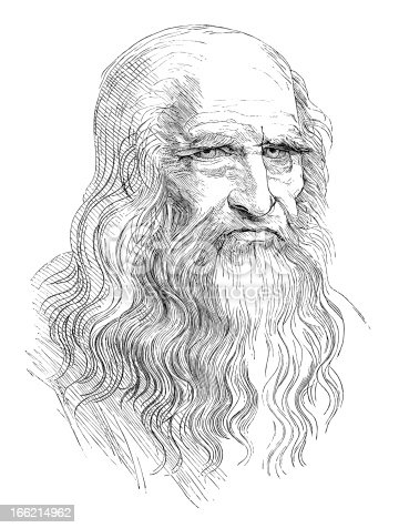istock Leonardo da Vinci 166214962