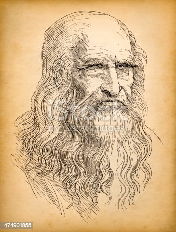 istock Leonardo da Vinci 474901855
