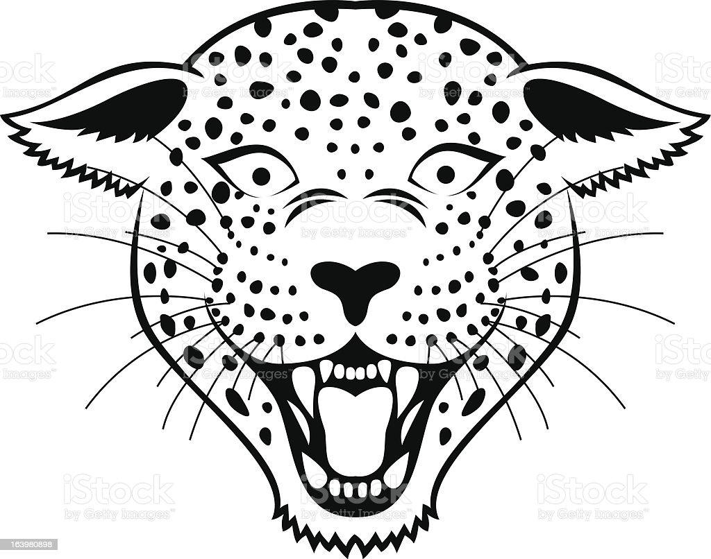 Leopard head tattoo royalty-free leopard head tattoo stock vector art & more images of aggression