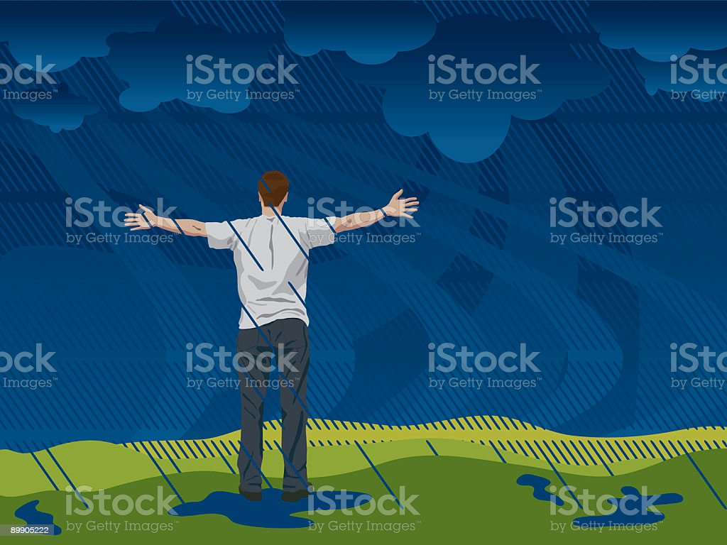 Let It Rain royalty-free let it rain stock vector art & more images of abstract