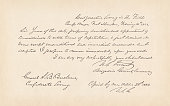 Letter by General U.S. Grant (1862), American Civil War, facsimile