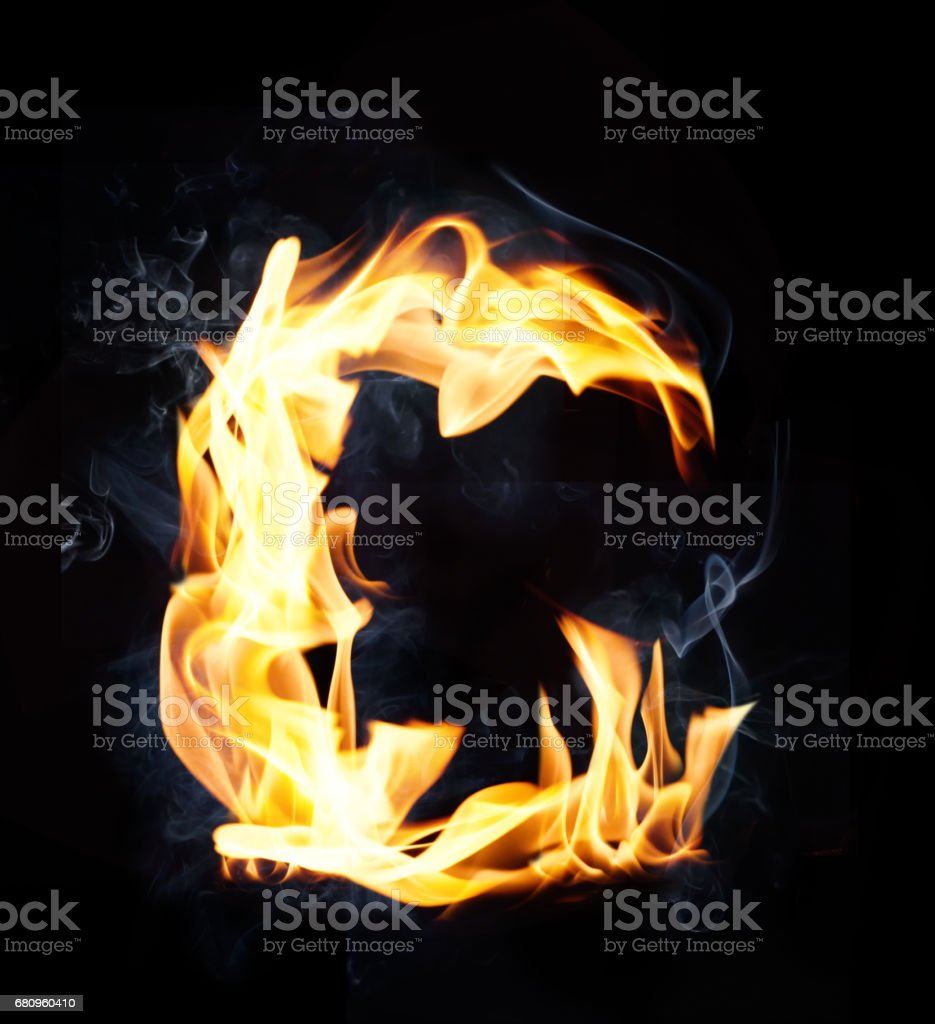 Letter C. Fire and smoke alphabet royalty-free letter c fire and smoke alphabet stock vector art & more images of abstract