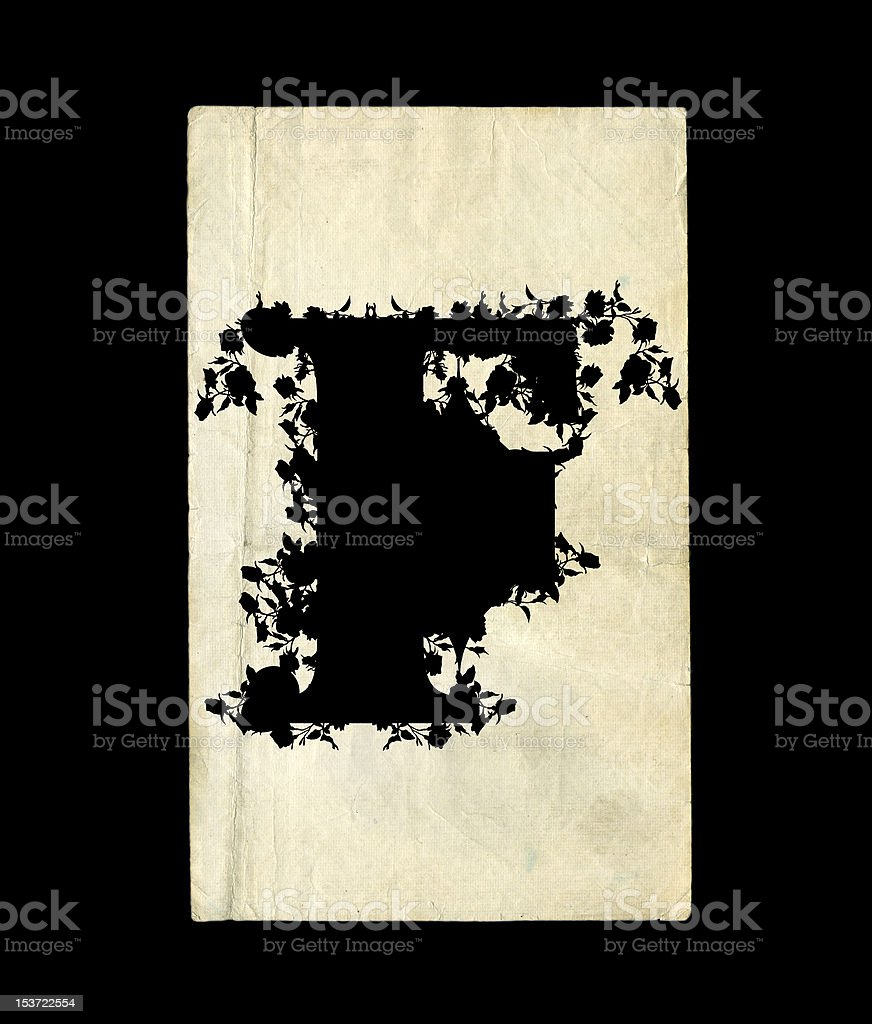 Letter F. royalty-free stock vector art